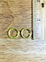 Clock Winding Arbor Brass Trim Ring (Set of Two) (14.37mm Outer Diameter)(K5040)