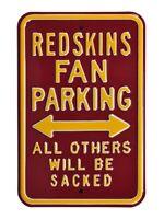 Washington Redskins Sign Parken Schild,NFL Football,45 cm,MUST SEE