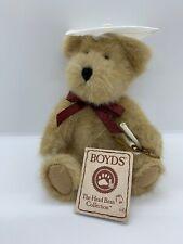 "Boyds Bears 8"" Plush Miss Graduate Graduation Girl Bear Diploma 903033 Tag"
