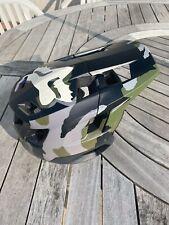 Fox Dropframe Helmet MTB Camoflauge Small