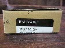 "Baldwin 5032150Idm Single Dummy 2-1/8"" Rose Satin Nickel Finish New in Box"