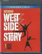 WEST SIDE STORY 50TH ANNIVERSARY EDITION BLU-RAY/DVD 3 DISC