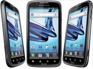 Black Motorola ATRIX 2 MB865 4.3 inches WIFI 8.0MP Camera Original Unlocked