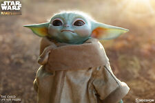 SIDESHOW THE CHILD LIFE SIZE BABY Yoda STATUE STAR WARS Mandalorian HERE NOW