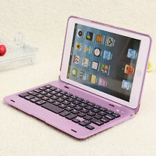 Foldable Wireless Bluetooth Rechargeable Keyboard Case Cover For iPad Mini 1 2 3