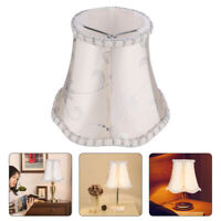 1pc Lampshade Fabric Protective Retro Decorative Durable Lamp Shade for Bedroom