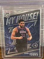 2019 - 2020 Donruss Optic Karl-Anthony Towns My House Insert Timberwolves Mint