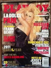 Playboy Magazine January 2011 Cover Pamela Anderson!