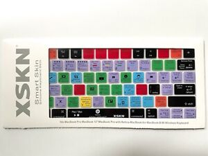 XKIN Silicone Keyboard Shortcut Adobe Lightroom for Apple MacBook Pro & Air New