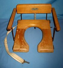 VTG Folding 1950's Infant Potty Chair/Seat/Trainer Clip On Camping Sturdi-Tot!