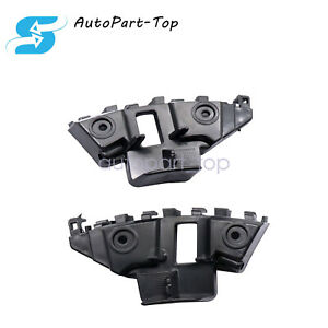 left+right front bumper support retainer brackets spacer for 2011-2014 vw jetta