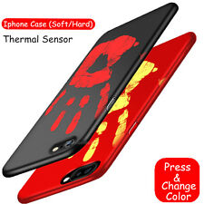 Magic Thermal Sensor Physical Discoloration Hard Phone Case For iphone 7 Plus