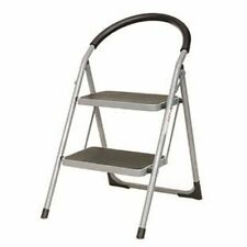 More details for white 2 tread step ladder 359293 - sby17017