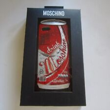 Authentic Moschino Iphone 5/5s & SE Case Drink Can Red rrp$us85.00 New Boxed
