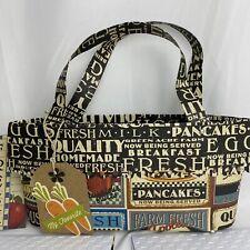 Recipe Cards :: Paper Handbag Card Holder :: Handmade