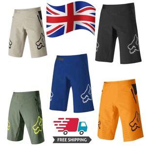 Fox Racing Shorts Men/'s MTB DH Mountain Bike Demo Shorts Spring 2021 UK
