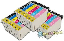 18 T0791-T0796 'Owl' Ink Cartridges Compatible Non-OEM with Epson Stylus PX800FW