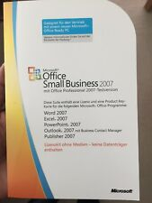 Microsoft Office Small Business 2007 32/64 bit ✔ MS ® Windows ✔ OEM MLK Key Card