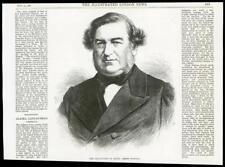 1868-Antiguo impresión España señor Olozaga Revolución (035)