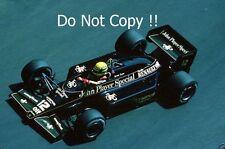 Ayrton Senna JPS Lotus 97 T Grand Prix de Monaco 1985 Photo 2