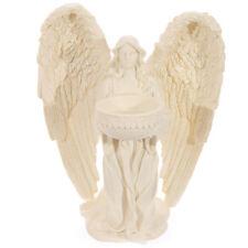 Kneeling Angel Figurine Tea Light Holder Votive Candle 17cm High
