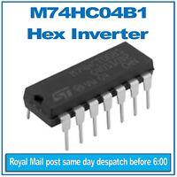 MC74HCU04AN circuito logico HC-CMOS 14 PIN DIP Pacco da 4 HU28 Hex Inverter