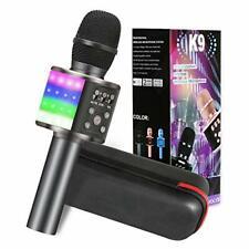 Karaoke Mikrofon, 5-in-1 Bluetooth Karaoke Mikrofon mit Musik Lautsprecher