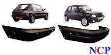 PEUGEOT 205 GTi Mk 2 1990 - 1996 avant & arrière PARE-CHOC finition noire 741099