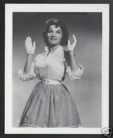 CONNIE FRANCIS Singer Actress 1995 WHO'S WHO GAME CANADA PHOTO TRIVIA CARD