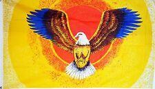 FLYING EAGLE 5 X 3 FEET FLAG polyester flags USA AMERICA AMERICAN