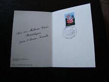 MONACO - carte 1er jour 6/11/1980 (roses) (cy16)