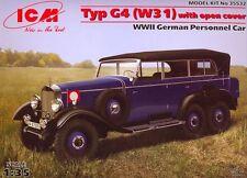 MERCEDES (DAIMLER-BENZ) G4 (W31) - WWII GERMAN THREE-AXLE OFF-ROAD CAR1/35 ICM