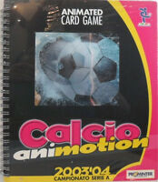 ANIMATED CARD GAME-CALCIO ANIMOTION-ALBUM-CAMPIONATO ITALIANO SERIE A 2003/04
