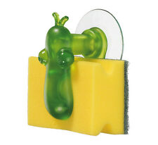 Koziol NORBERT Sponge Holder  (Sponge included) - GREEN - NORBERT NOSE SPONGES
