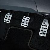 SUZUKI SWIFT, GENUINE Accessory Aluminium Pedal Set, fits Swift 2010-mid 17, NEW