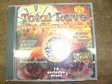 TOTAL RAVE Full versions non stop  compil CD