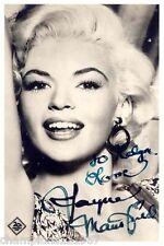 Jayne Mansfield ++Autogramm++ ++Hollywood Legende++