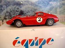 1/43 Equipe Maserati 151 1963 Handmade White Metal Model Car Kit