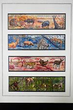 Burundi Animals and Birds Stamp Collection