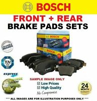 FRONT + REAR Axle BRAKE PADS for LAND ROVER DISCOVERY IV 3.0 SDV6 4x4 2009->on