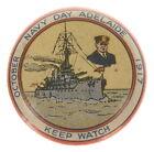 Australian WWI Button Navy Day Adelaide