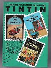 The Adventures of Tintin. Destination Moon. Explorers on the Moon. Black Gold