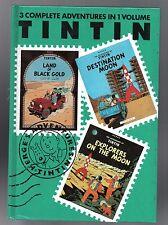 The Adventures of Tintin. Destination Moon. Explorers on the Moon. Black Gold