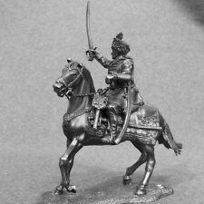 Cavalry knight Mounted Cossack Colonel Bogun 1/32 Toy Tin Soldier 54mm