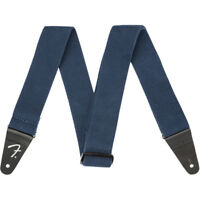 Fender Supersoft Strap Guitar Bass Strap, Blue 2""