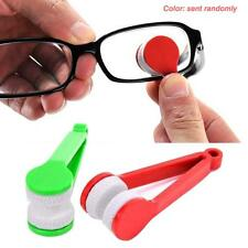 Mini Microfiber Sun Glass Eyeglass Spectacles Cleaner Brush Cleaning Tool