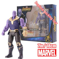 """Thanos Marvel Avengers Legends Comic Heroes 7"""" Action Figure Boy Kids Toy in Box"""