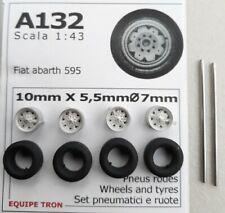 RUOTE 1/43 FIAT ABARTH 595-695  TRON  A132