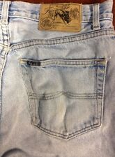 Faconnable Dungarees Classic Distressed  Blue Jeans W32 L30 RecyclesClothes.com