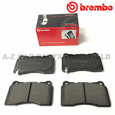 FOR MITSUBISHI LANCER EVO X 10 FQ330 FQ360 FRONT GENUINE BREMBO BRAKE PADS SET